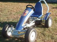 This is a used Berg Racing GT3 Pedal Go Kart.Very good