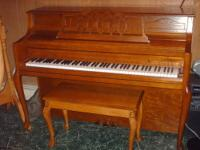 Used Bergmann Upright Piano. Purchased in 2004. Very