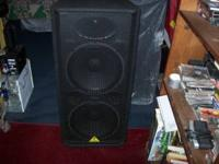 I have a pair of double 15inch pa speaker and cabinets