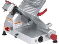 Practically new Berkel meat slicer. It was used a few
