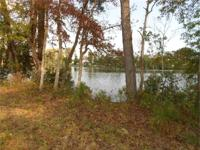 A very private waterfront parcel with over 30 acres of