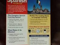 Berlitz Spanish Premier makes learning Spanish fast,