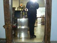 This is a huge mirror.  It is about 20 years old.   It