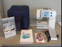 bernina artista 630 only used a couple of times. like
