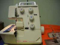 Serger for sale, good condition has the following