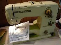 BERNINA RECORD 730 zigzag embroidery sewing equipment