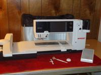 For Sale: Bernina 830 Sewing/Embroidery Machine with
