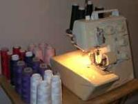 For Sale is a Bernette for BERNINA Funlock 006D Serger.