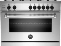 "Brand New 36"" Professional Gas Range With 5 Aluminum"