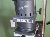 Beseler 23C II Photo Darkroom Enlarger, has negative