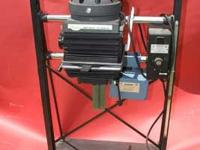 Beseler 4x5 motorized condenser enlarger with 6