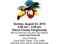 The Foothill Bird Fanciers 24th Annual Exotic Bird