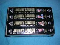 I am selling a Vhs Collector Set of Johnny Carson's