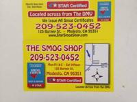 / / / / / / / / / / THE SMOG SHOP (Across from the DMV)