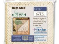 Best-Step rug pads provide a non-slip, cushioned