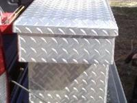 Better Built Aluminum toolbox for midsize truck. Was