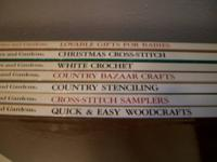 Better Homes and Gardens Books qty 7 like new dont look