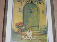 This framed print of Better Homes & Garden's Magazine