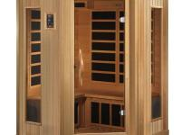 Better Life 3 Person corner sauna is designed for ease