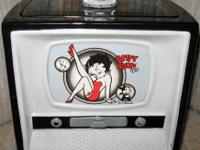 Hi!  We have a Betty Boop TV Cookie Jar For Sale!  Like