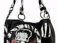 http://bit.ly/1F0sVapoLicensed Betty Boop bag with