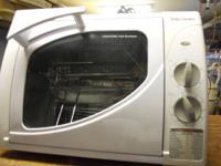Betty Crocker Rotisserie Oven - $30  Lightly Used,