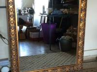 Stunning beveled mirror in actually nice condition $100