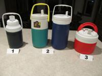 Beverage Cooler Jugs, Playmate Coolers and  Ice Chests