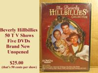 Fifty full length Beverly Hillbilly TV shows on set of