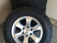 FOUR (4) LOW MILEAGE BF GOODRICH ALL TERRAIN TIRES