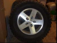 I have 5 BF Goodrich mud terain TA's for a jeep. They