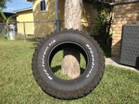 Selling four BF Goodrich Mud terrain tires size 35