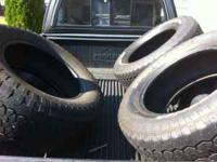 I have three BF Goodrich Rugged Trail Tires (P275 /