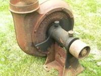 BF Sturtevant No. 3 Blower / Fan - 9 inch inlet &