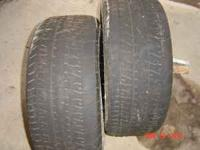 275/60 R15 Cheater slicks. This a pair of bf goodrich