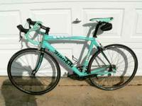 This is a 2007 Bianchi C2C Via Nirone 7, Alu-Carbon