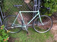 Carried steel frame Bianchi Campione-d'Italia road bike