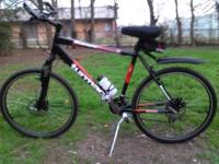 Bianchi Forza 26 inch, 8 speed high and low gears,