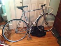 I sadly have to sell my Bianchi Pista single speed