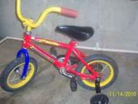 Road Master beginners bike for boys (or girls). The