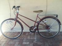 Bicycle is in overall very good condition. Bicycle is a