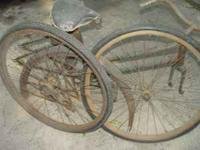 1 Iver Johnson womens bicycle . The third pic on the