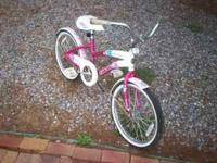 Good little 20 inch bike for sale cheap. Call