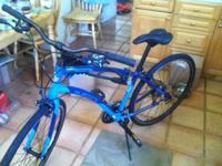 hey there -. I have a brand new guys's bike (electra,