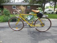 Bicycle is in very good condition, only ridden about 10