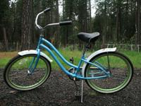 "13"" Phat Cycles ""Melodie"" model, girls light blue"