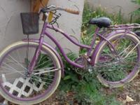 FOR SALE Single speed cruiser bike, just one year old