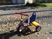 Working bike with front mount baby seat - $50 for both