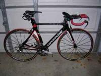 I'm selling my 2008 Cannondale full carbon TT bike,