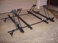 Barrecrafter bicycle rack that will mount on top of